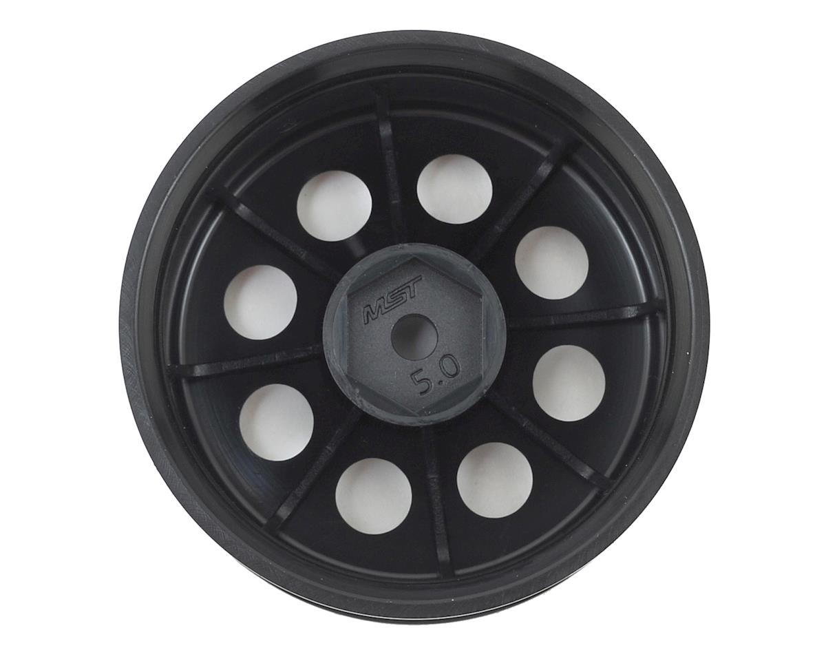 "MST 58H 1.9"" Crawler Wheel (Flat Black) (4) (+5)"
