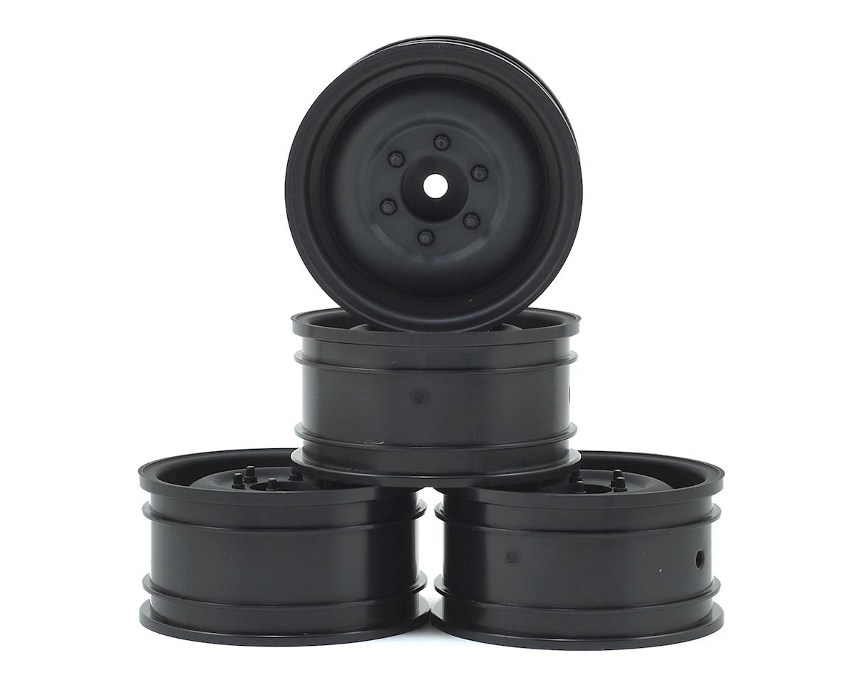"MST 60D 1.9"" Crawler Wheel (Flat Black) (4) (+5)"