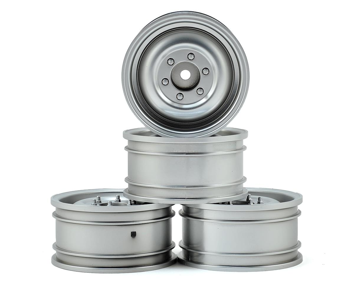 "60D 1.9"" Crawler Wheel (Flat Silver) (4) (+5) by MST"