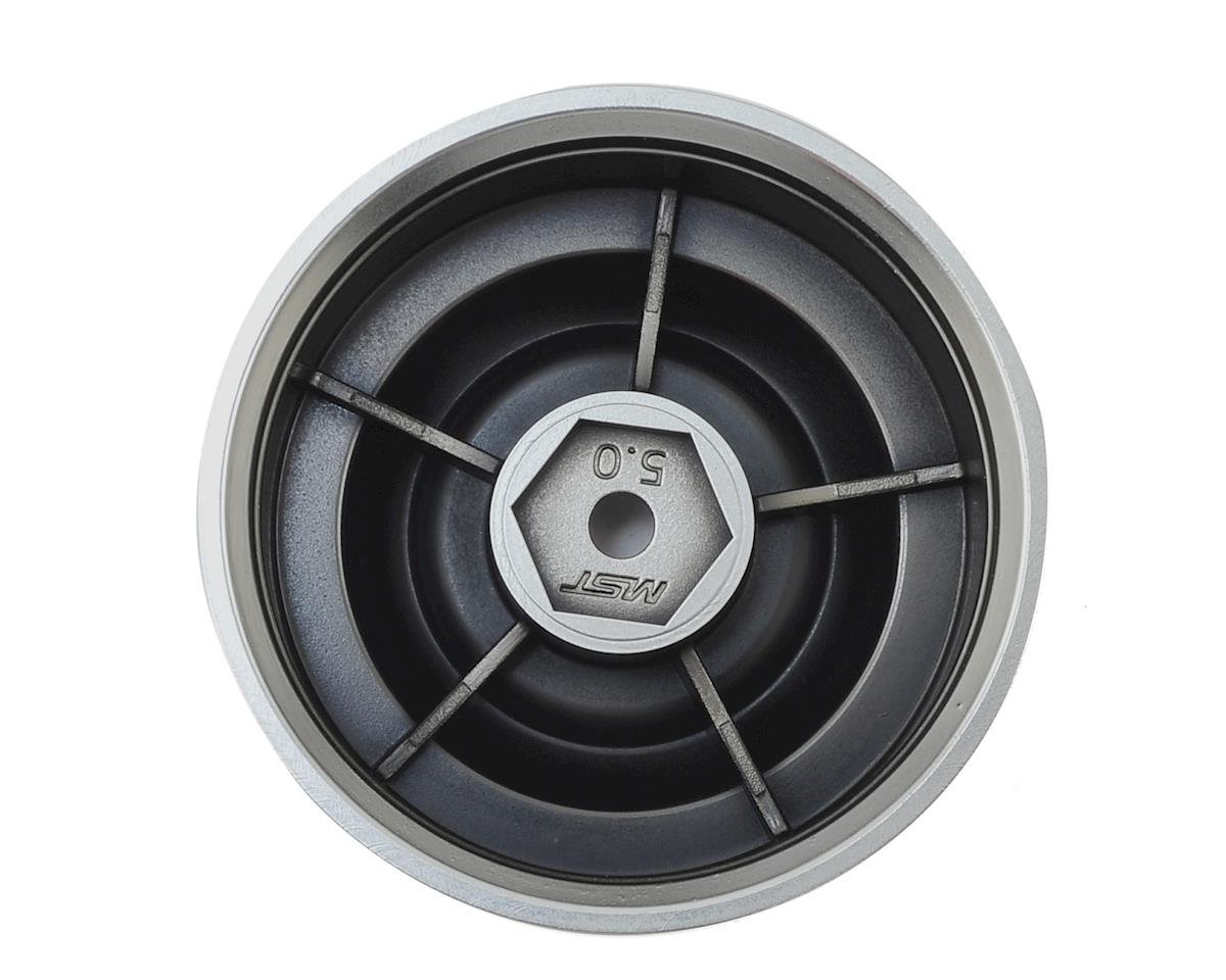 "MST 60D 1.9"" Crawler Wheel (Flat Silver) (4) (+5)"