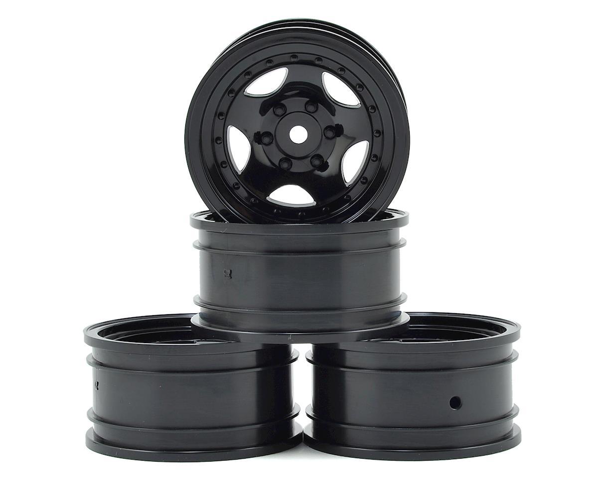 "MST 236 1.9"" Wheel (Black) (4) (+5)"