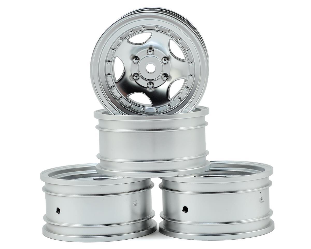 "MST CFX-W 236 1.9"" Wheel (Flat Silver) (4) (+5)"