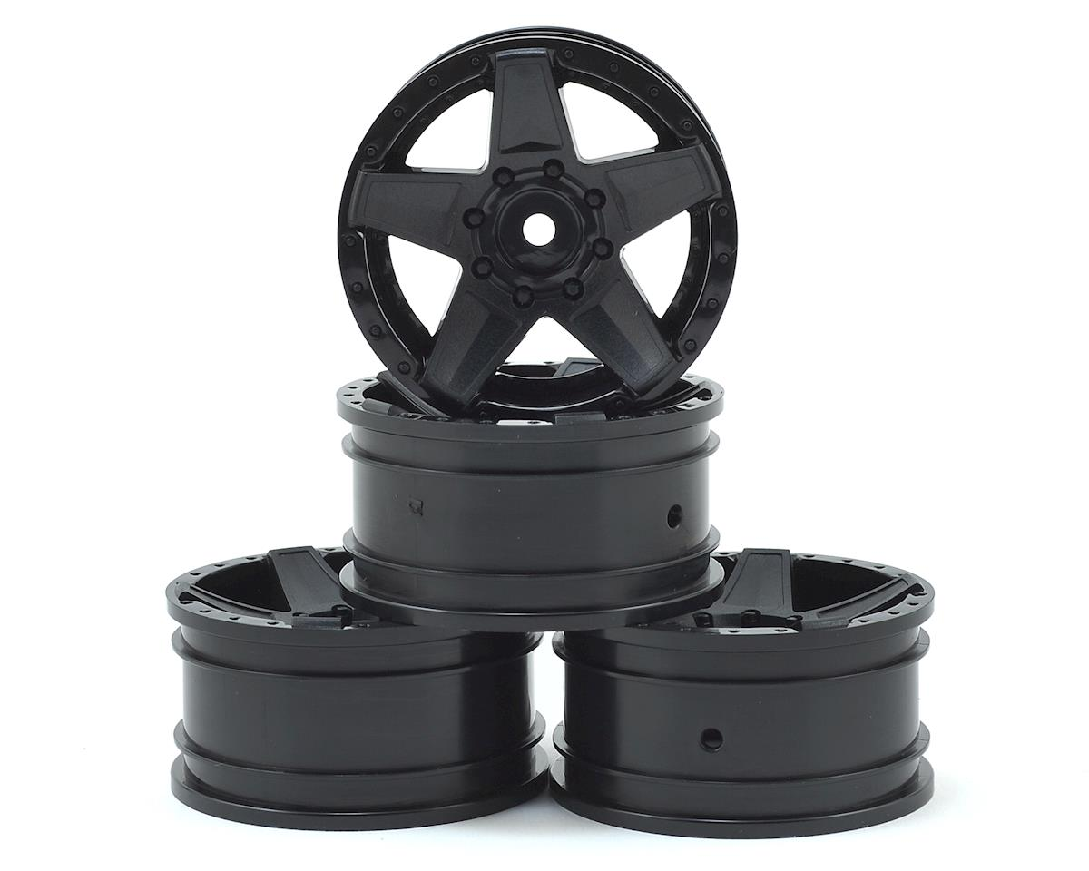 "648 1.9"" Wheel (Black) (4) (+5) by MST"