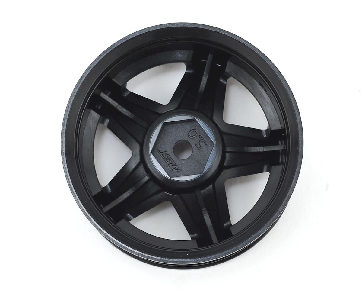 "MST 648 1.9"" Wheel (Black) (4) (+5)"