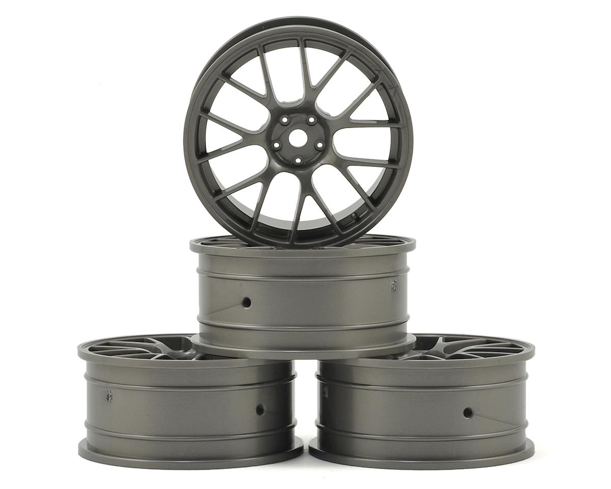 24mm RE Wheel (Grey) (4) (+0 Offset) by MST