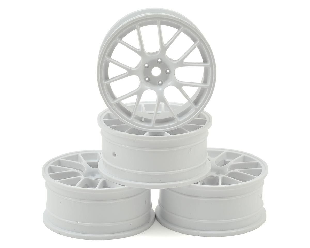 MST 24mm RE Wheel (White) (4) (+0 Offset)