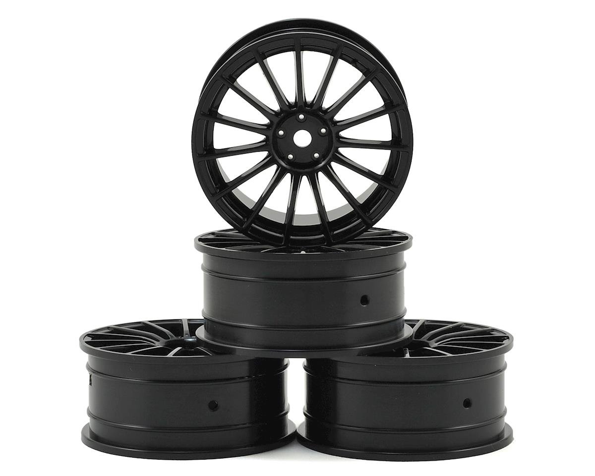 MST 24mm LM Wheel (Black) (4) (+0 Offset)
