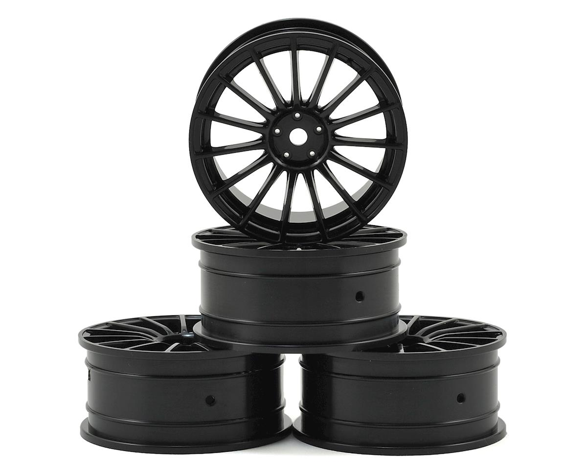 24mm LM Wheel (Black) (4) (+0 Offset) by MST MS-01D