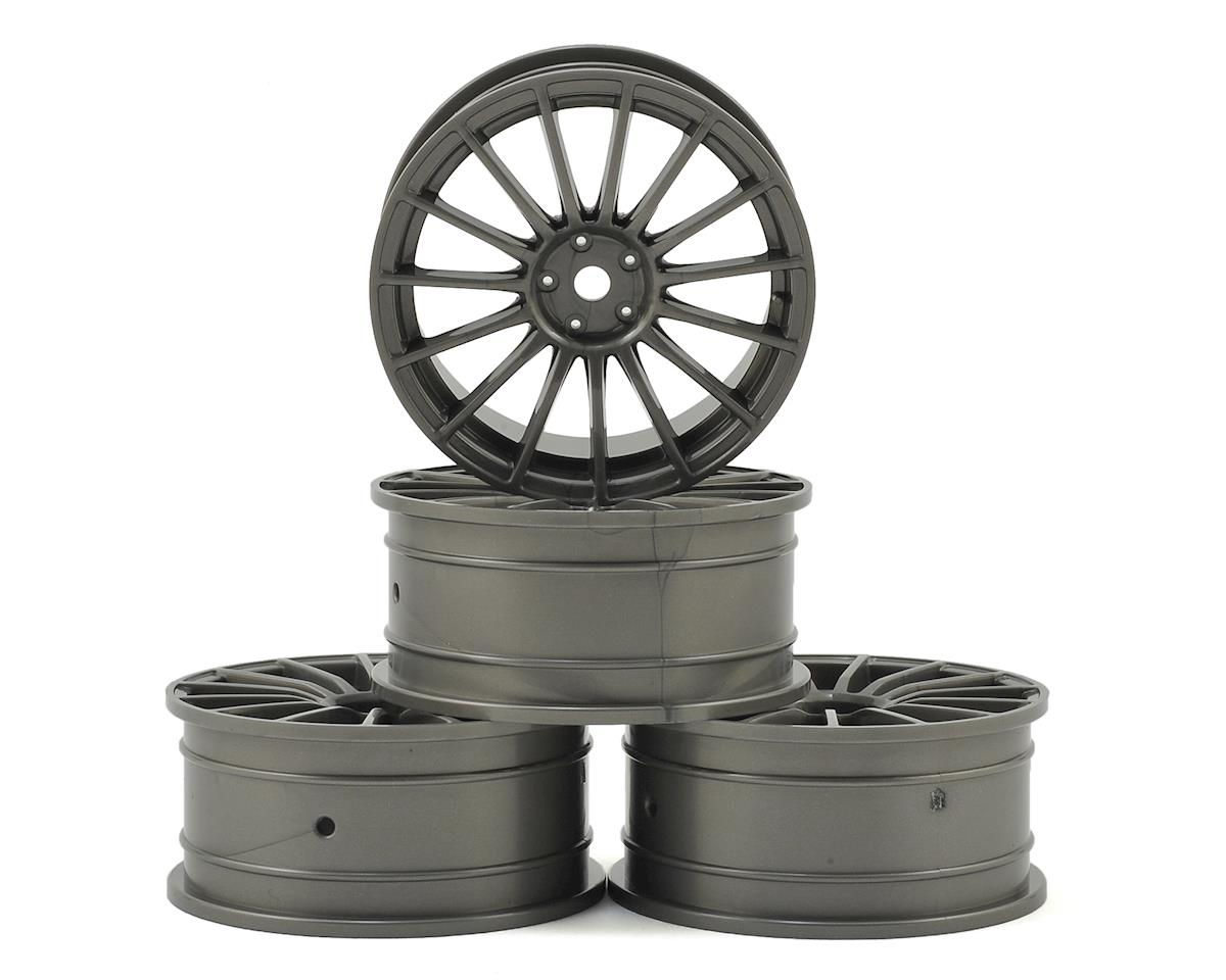 MST 24mm LM Wheel (Grey) (4) (+0 Offset)
