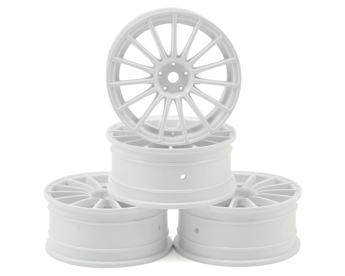 24mm LM Wheel (White) (4) (+0 Offset) by MST MS-01D