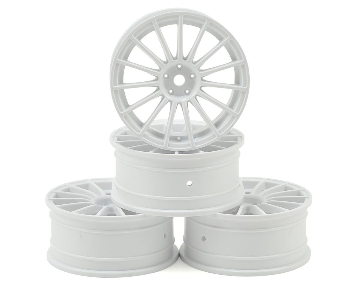 MST 24mm LM Wheel (White) (4) (+0 Offset)