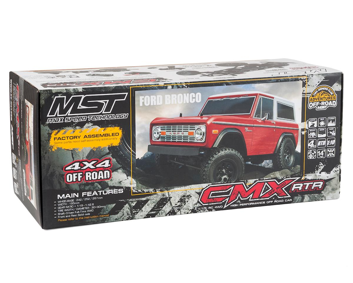 MST CMX RTR Scale Rock Crawler w/Bronco Body