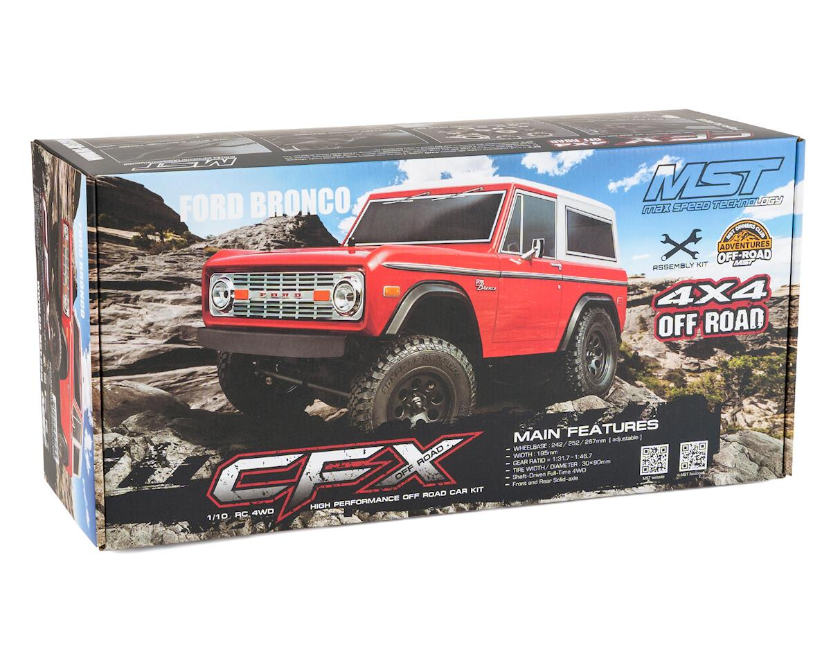 MST CFX High Performance Scale Rock Crawler Kit w/Bronco Body