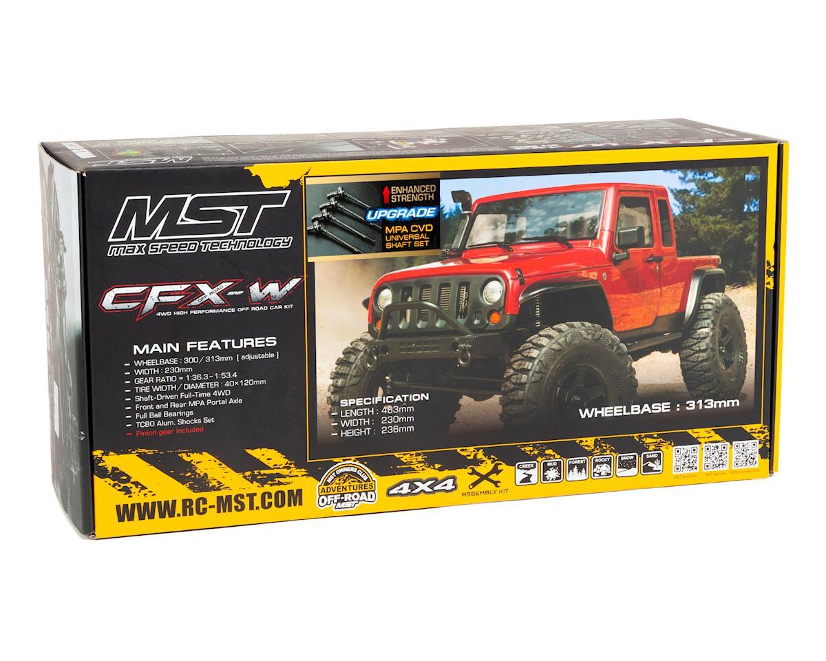 MST CFX-W High Performance Scale Rock Crawler Kit w/JP1 Body