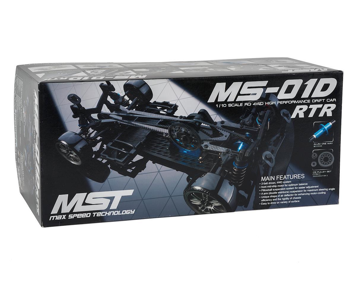 MST MS-01D 1/10 Scale 4WD Brushless RTR Drift Car w/Subaru Impreza WRC 2008 Body