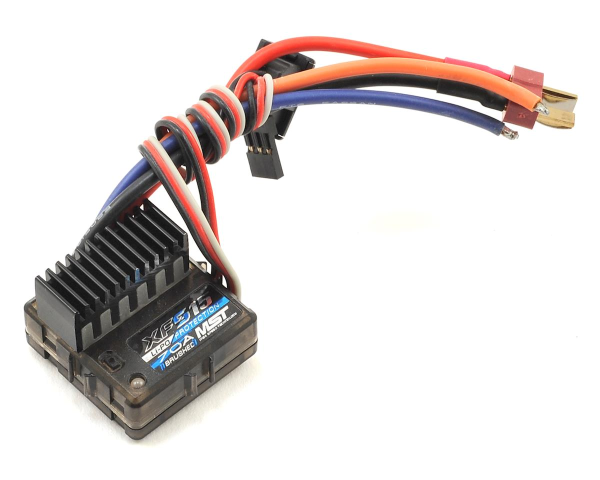 MST XFS-15 70A Brushed ESC w/LiPo Protection