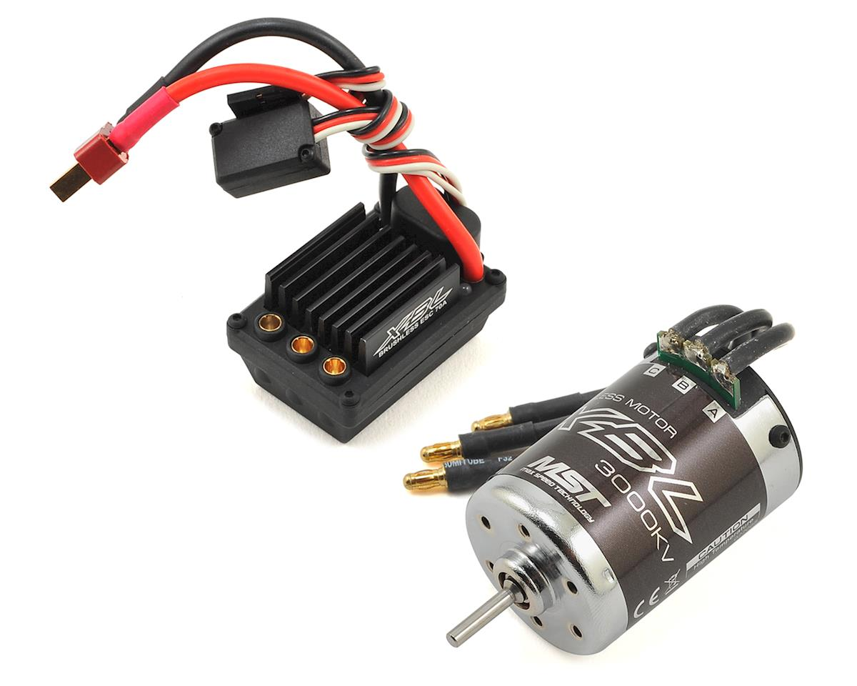 XBL Sensorless Brushless ESC & Motor Combo Set (3000Kv) by MST MS-01D
