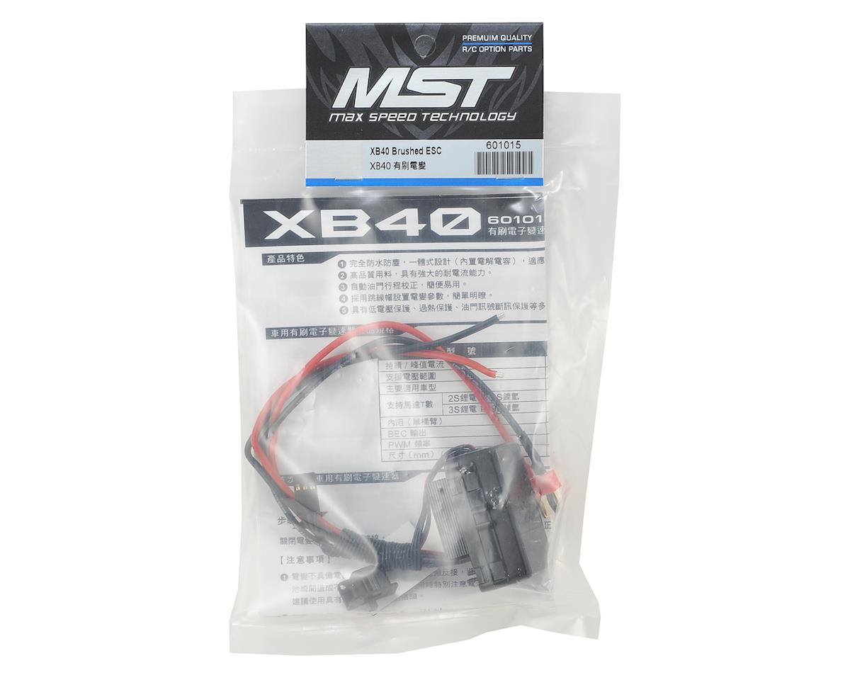MST XB40 Brushed ESC