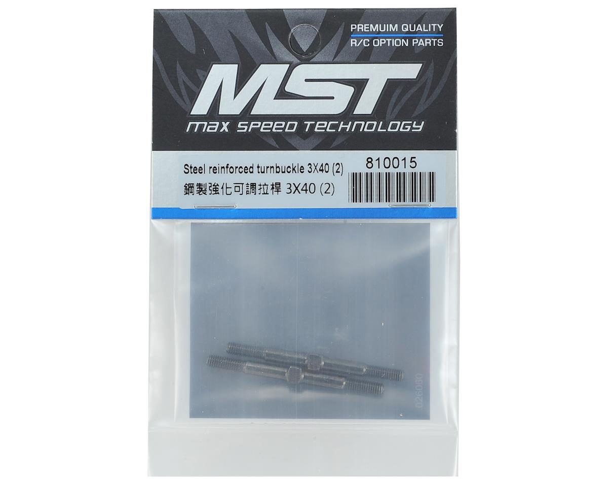 MST 3x40mm Steel Reinforced Turnbuckle (2)