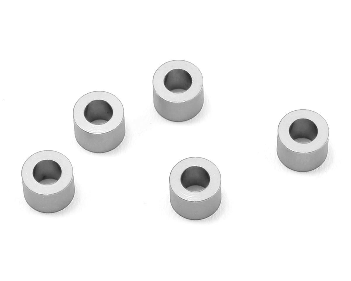 MST 3x5.5x4.0mm Aluminum Spacer (5) (Silver)