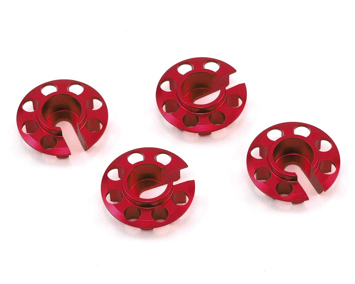 MST Aluminum Damper Spring Retainer (Red) (4) (Lower Type)