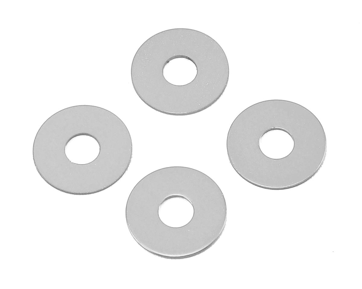 MST 0.5mm Wheel Hub Spacer (Silver) (4)