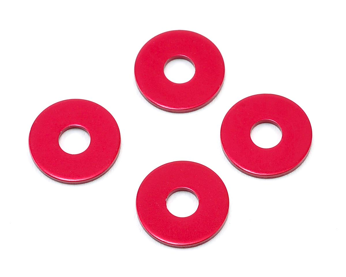 MST 1.0mm Wheel Hub Spacer (Red) (4)