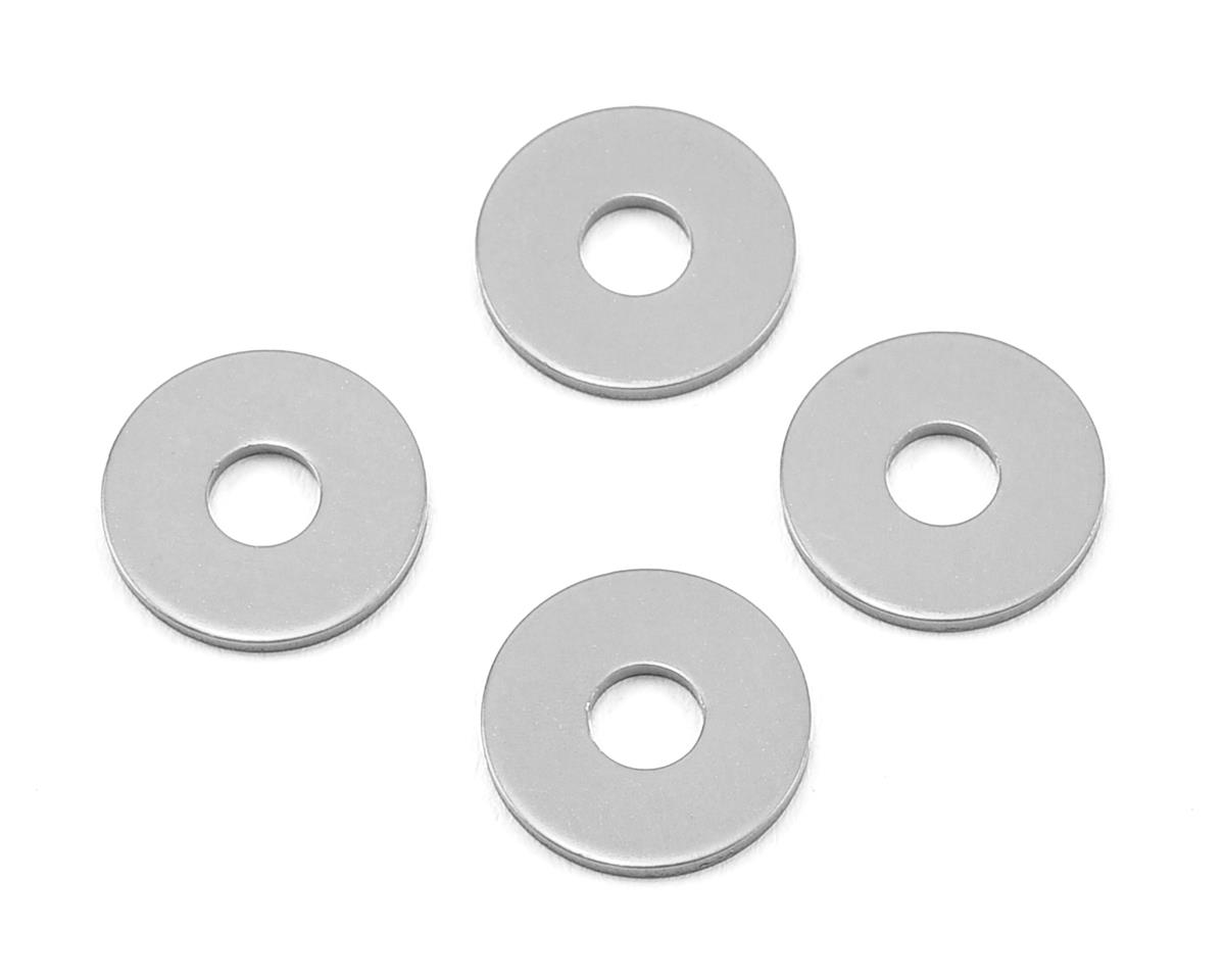 1.0mm Wheel Hub Spacer (Silver) (4) by MST