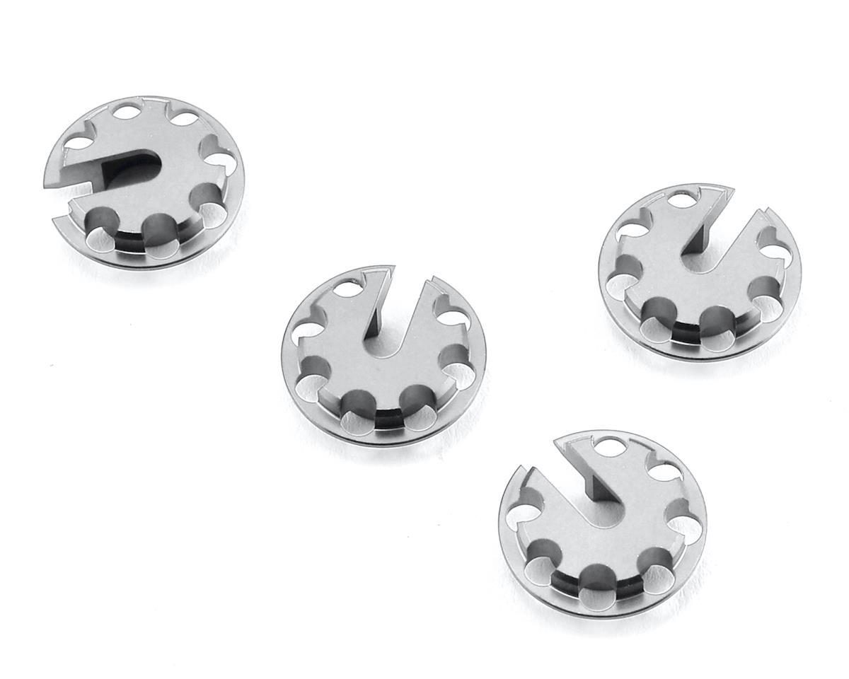MST Aluminum Damper Spring Retainer (Silver) (4)