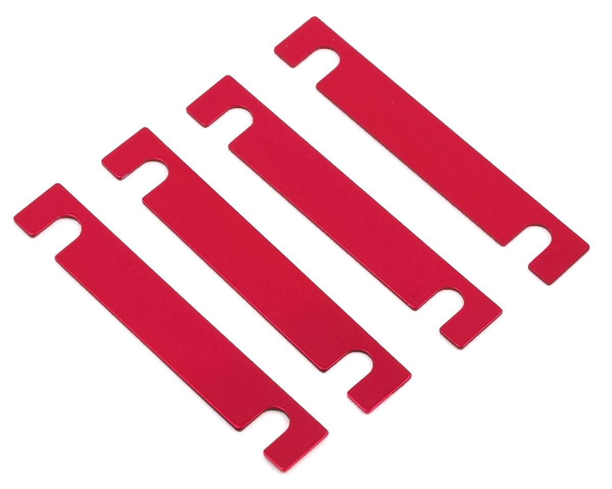 MST 0.5mm Suspension Mount Spacer (Red) (4)
