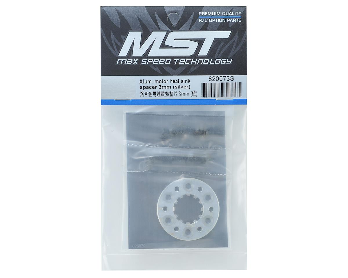 MST 3mm Aluminum Motor Heat Sink Spacer (Silver)