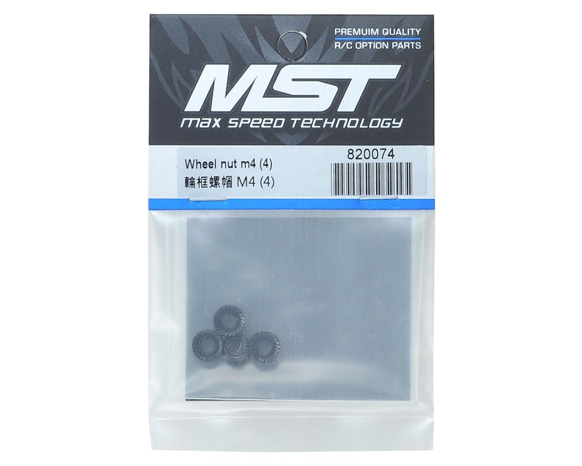 MST M4 Wheel Nut (4)