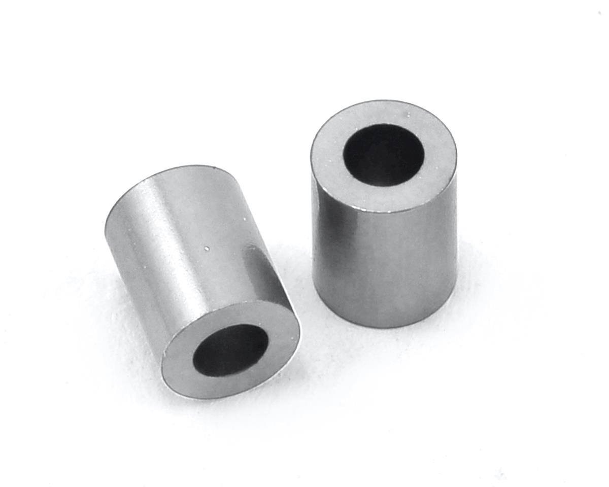 MST 3x5.5x7mm Aluminum Spacer (Silver) (2)