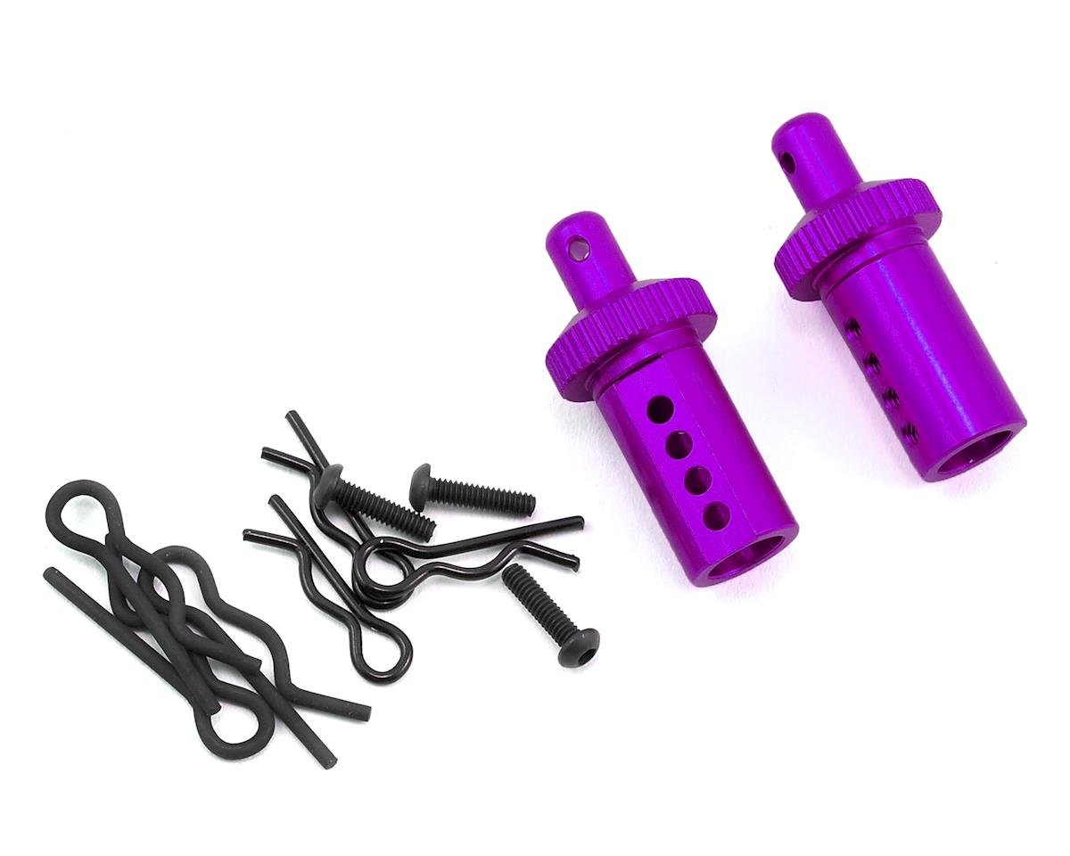 MST Aluminum Adjustable Body Post (Purple) (2)