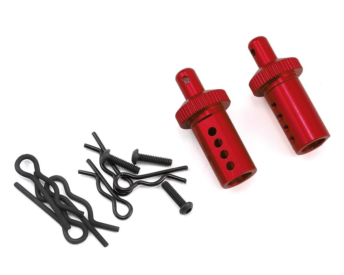 MST Aluminum Adjustable Body Post (Red) (2)