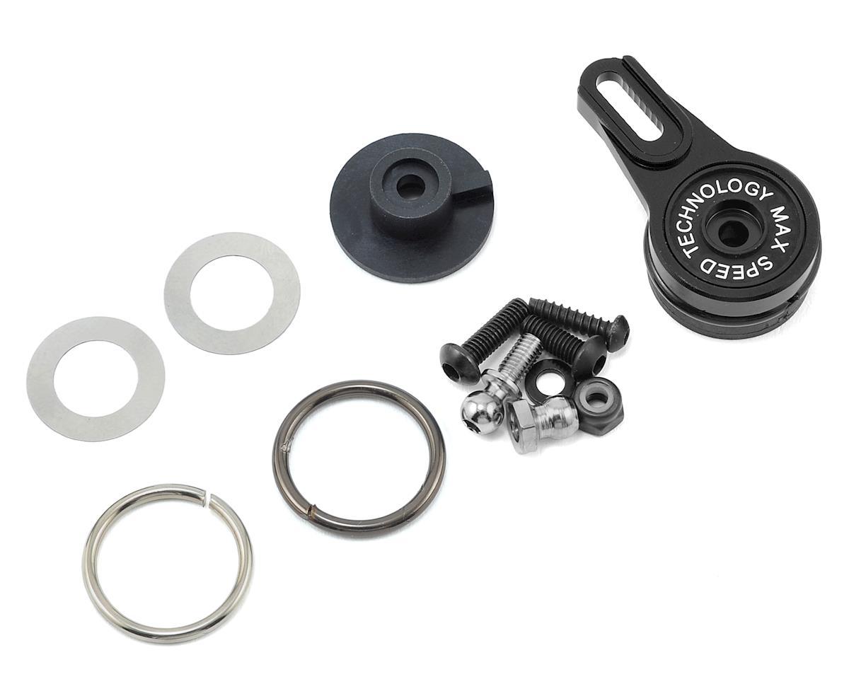 MST Aluminum Adjustable Servo Saver (Black)