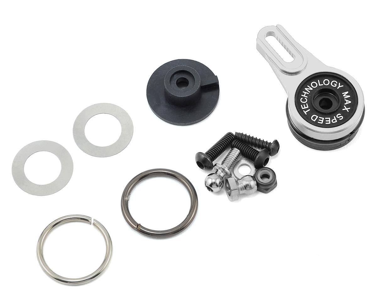 MST Alum. 8-adjusting servo saver (silver)