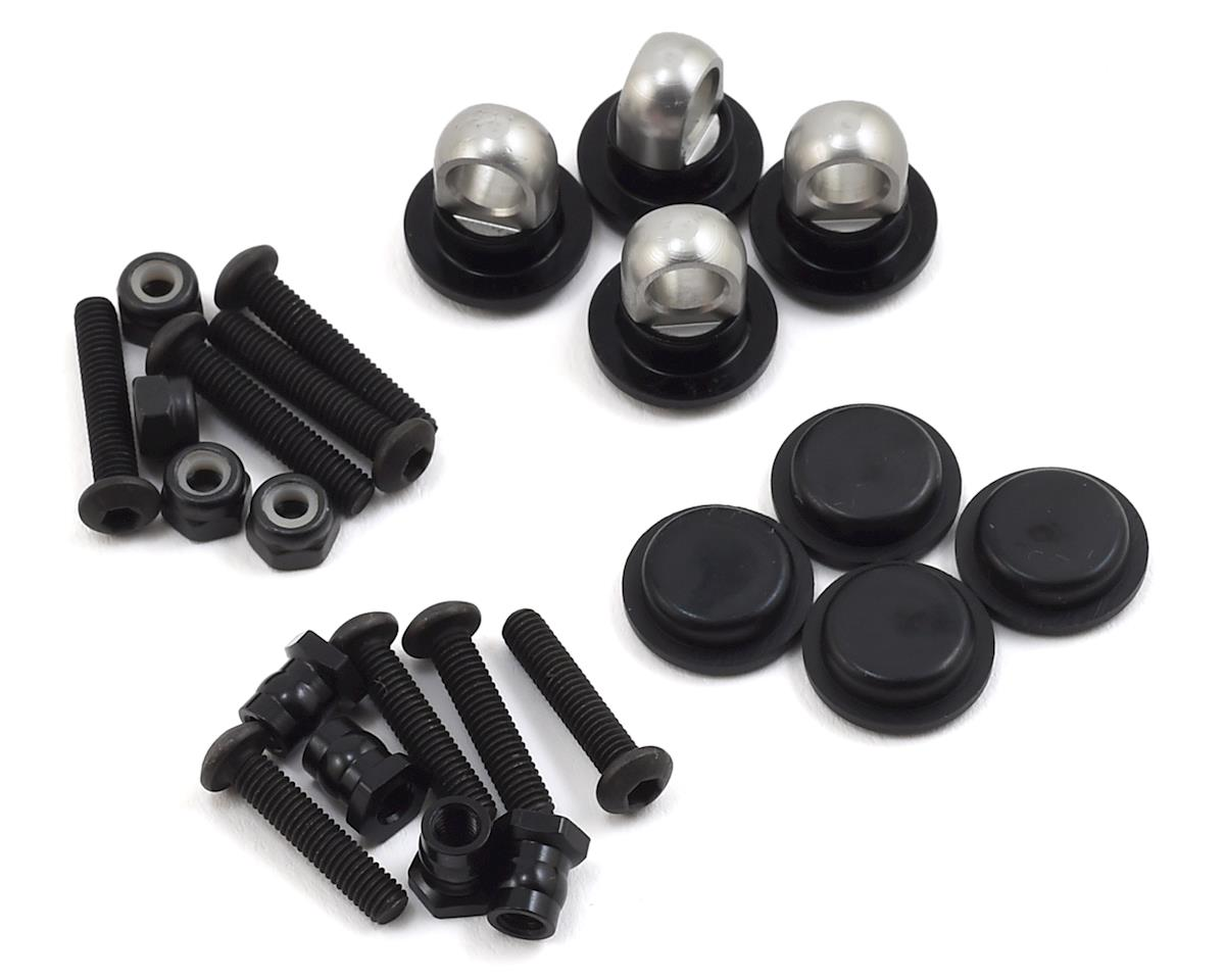MST Aluminum Adjustable Shock Upper End Set (4)