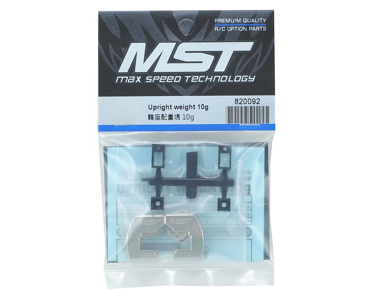 MST Upright weight 10g
