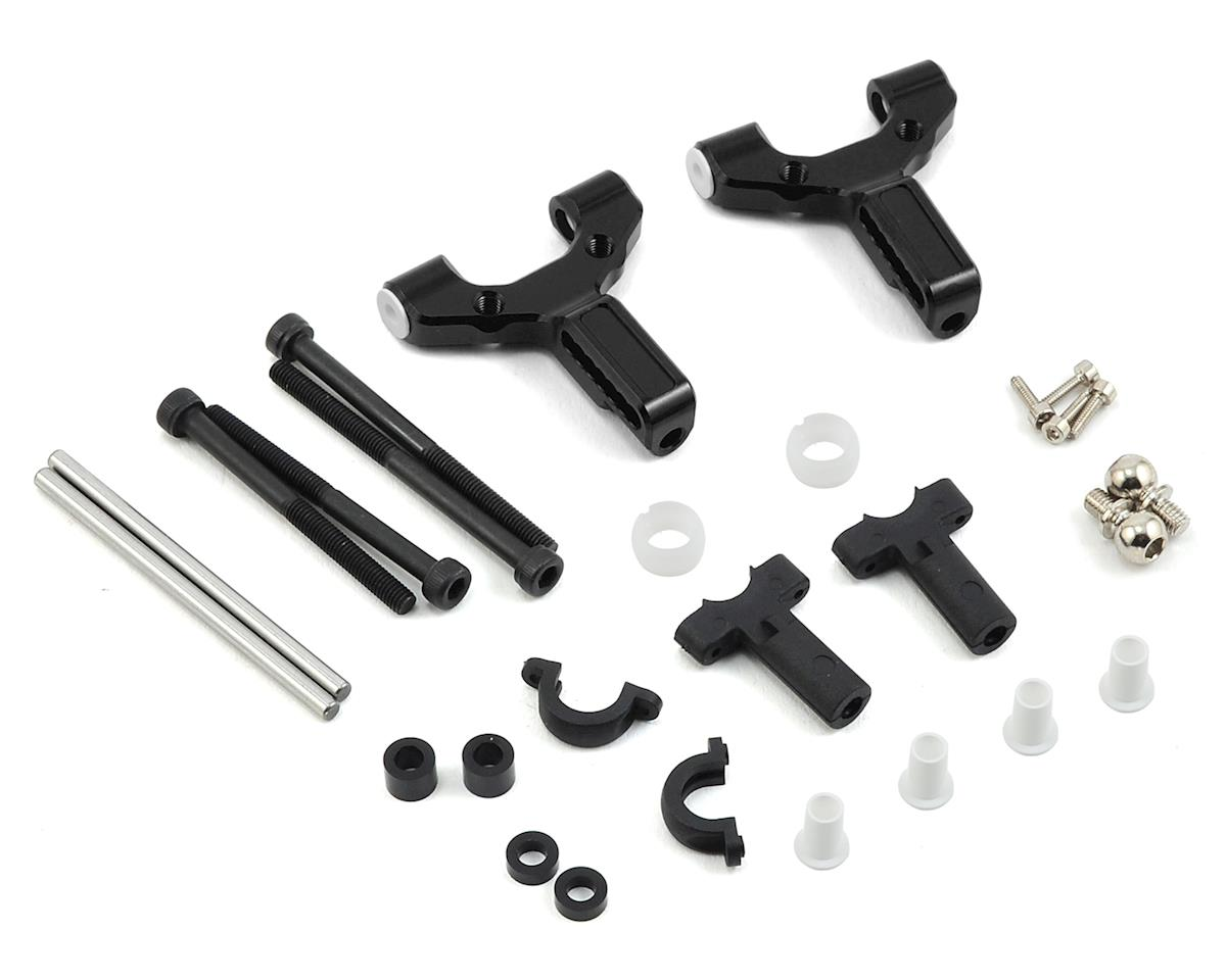 MST Aluminum Front Lower Arm Set (Black)