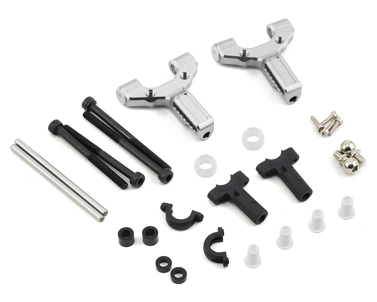 MST Aluminum Front Lower Arm Set (Silver)