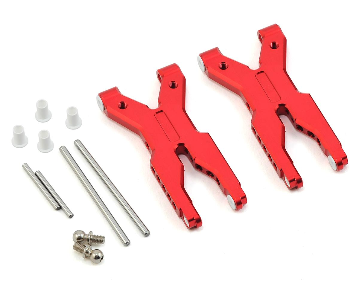 MST Aluminum Rear Lower Arm Set (Red)