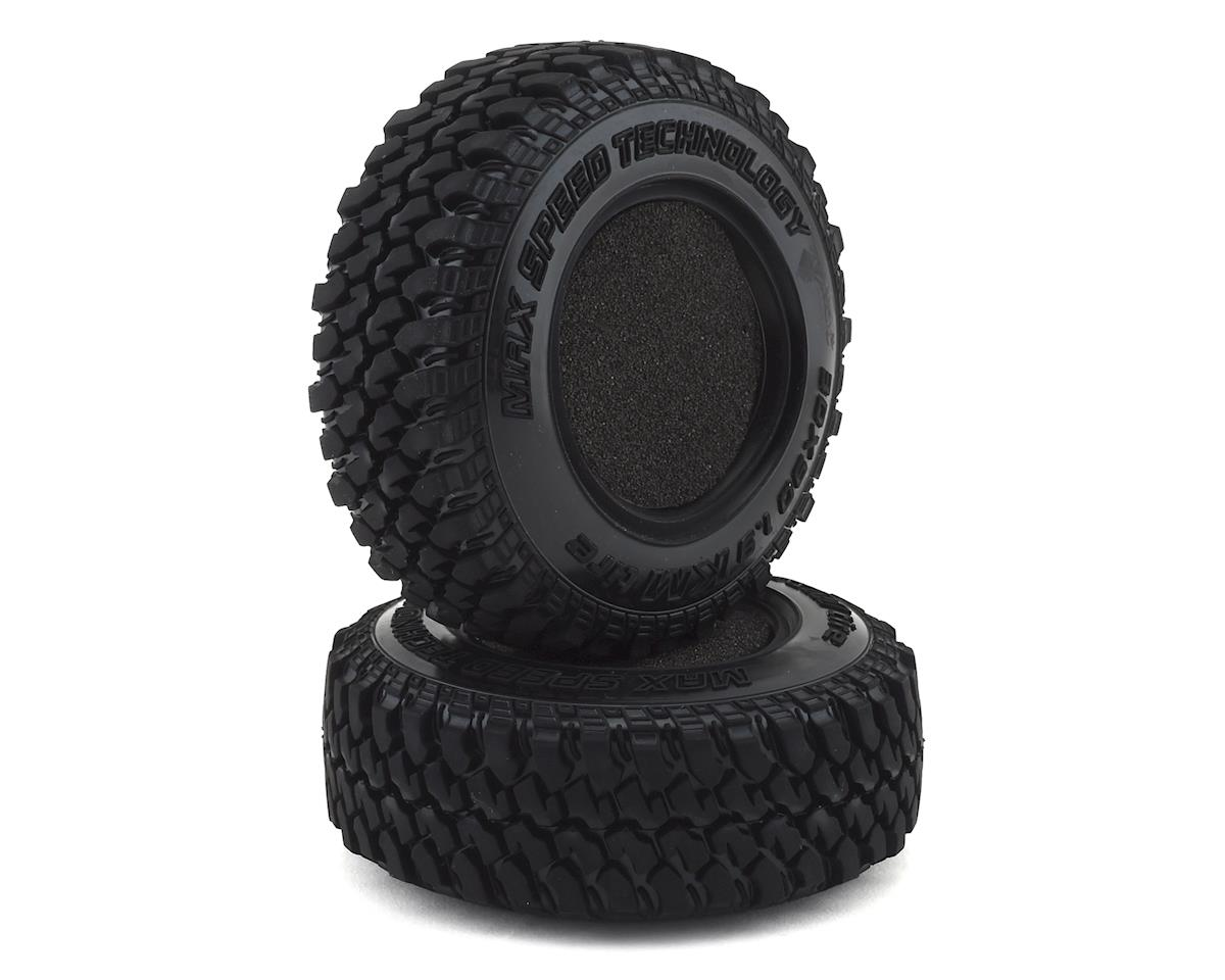 "MST KM 1.9"" Crawler Tire (2) (30x90mm)"
