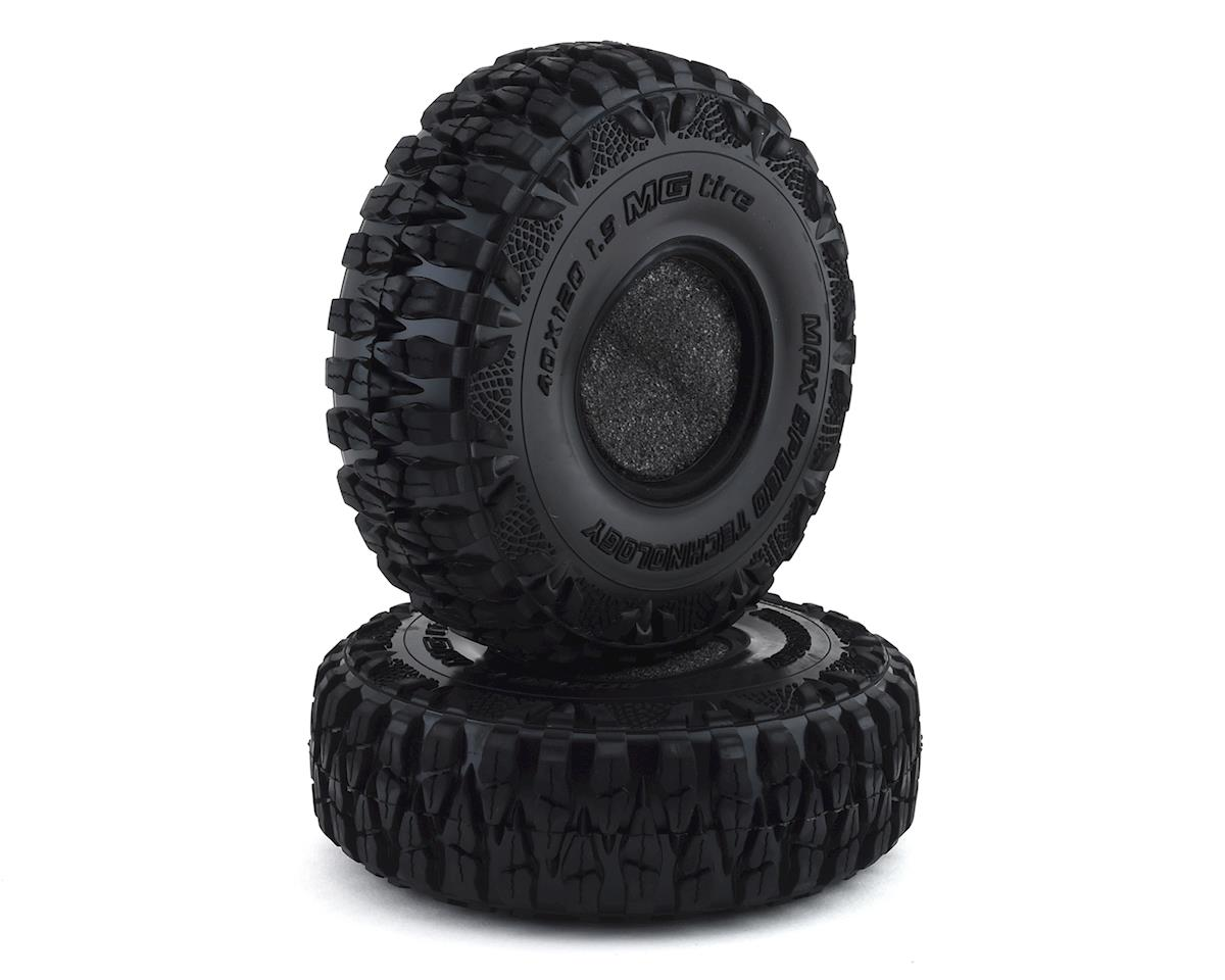"Crazy Crawler LaserFoam /""Heavy Duty/"" 1.9 Foam Crawler Tire Insert 2 116x40mm"