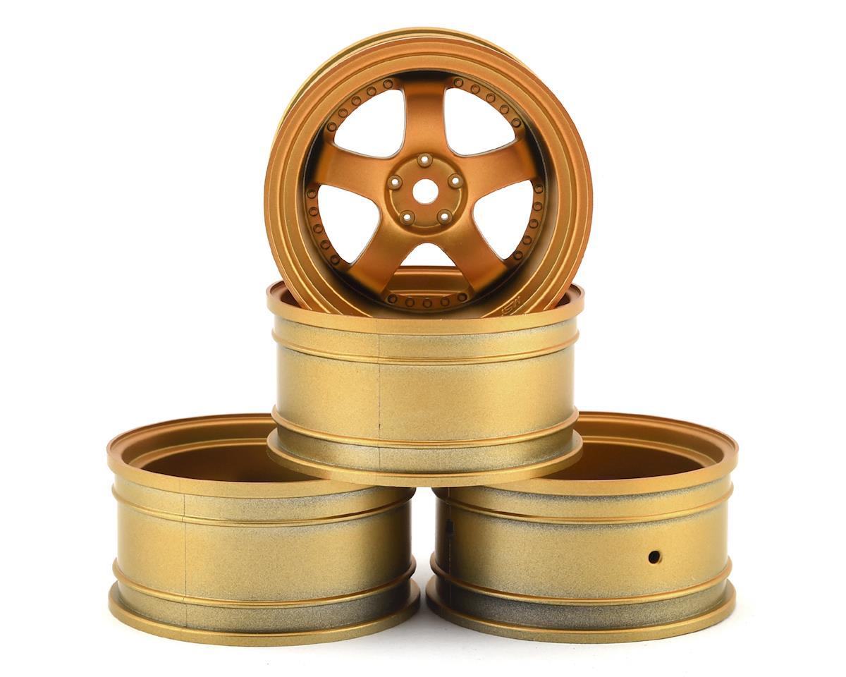 MST SP1 Wheel Set (Gold) (4) (+9 Offset)