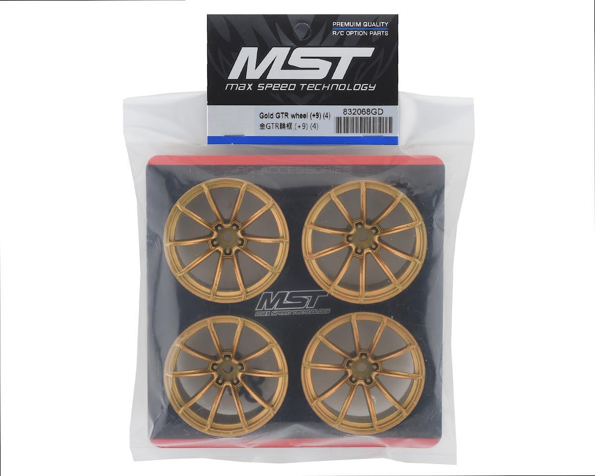 Image 4 for MST GTR Wheel Set (Gold) (4) (+9 Offset)