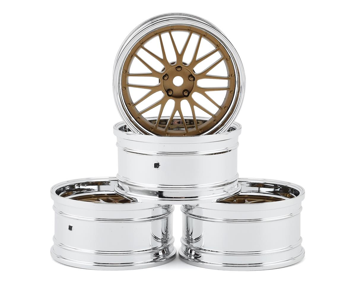 MST RMX 2.0 S S-GD 21 Wheel Set (Gold) (4) (Offset Changeable)