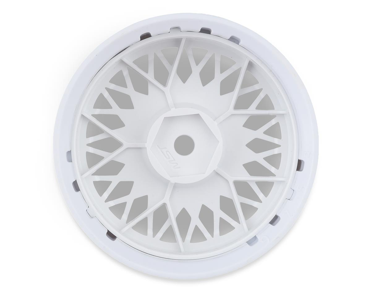 Image 2 for MST 501 Wheel Set (White) (4) (Offset Changeable)