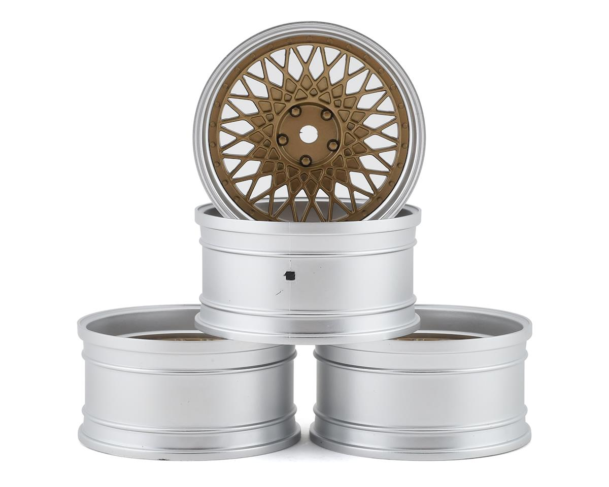 MST 501 Wheel Set (Gold) (4) (Offset Changeable)