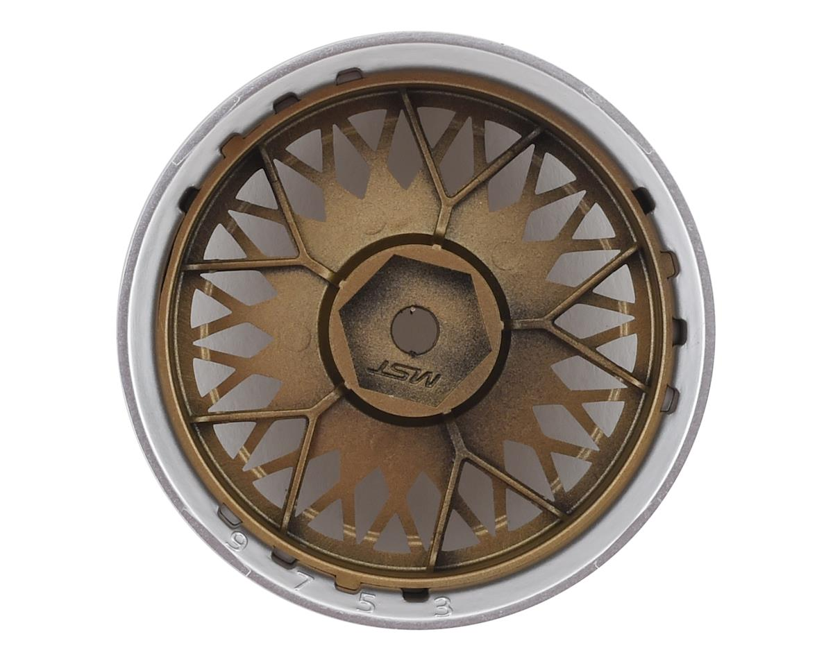 Image 2 for MST 501 Wheel Set (Gold) (4) (Offset Changeable)